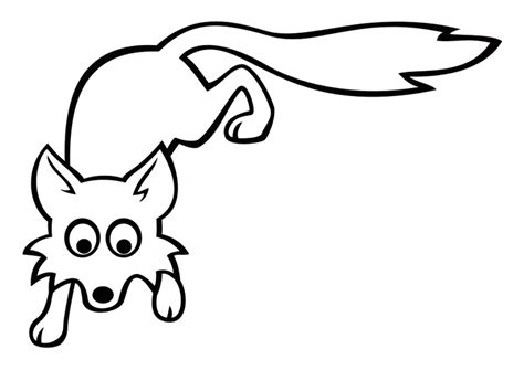 imagenes para dibujar de zorros dibujo para colorear zorro img 29040