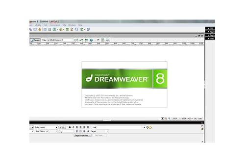 download macromedia dreamweaver 8 full free