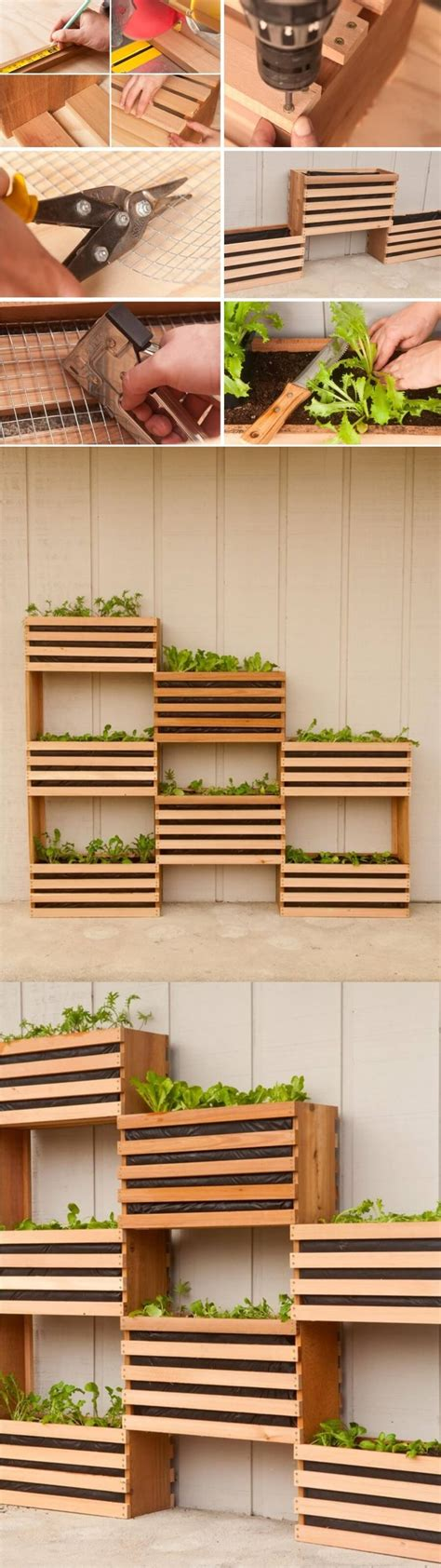 diy wood planter box 32 best diy pallet and wood planter box ideas and designs