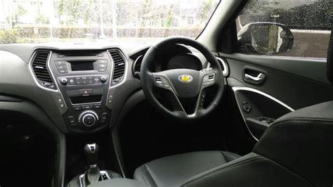 Hyundai Santa Interior by Hyundai Santa Fe Interior Facelift 2016 Autonetmagz
