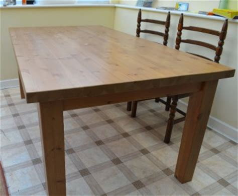 Ikea Pine Dining Table Quot Ikea Forsby Dining Table Quot Large Pine Table Seats Up To Eight Ebay