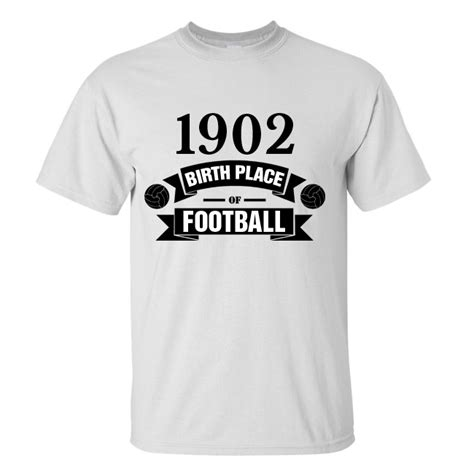 T Shirt Real Madrid real madrid birth of football t shirt white