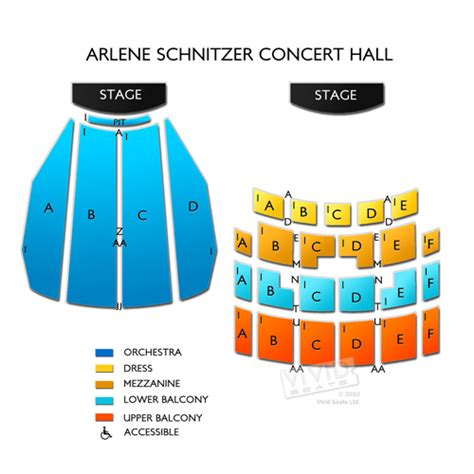 schnitzer concert seating chart arlene schnitzer concert tickets arlene schnitzer