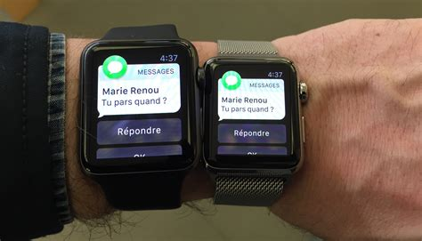 Premiers jours avec une Apple Watch et premières surprises   iGeneration
