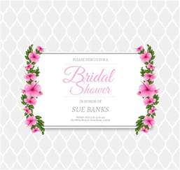 9 bridal shower invitation templates free premium