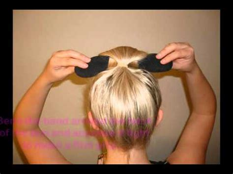 hair peice for making buns to grow out hair easy bun hair bun maker girls deals youtube