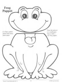 Frog Finger Puppet Template by Frog Puppet Crafts And Gifts