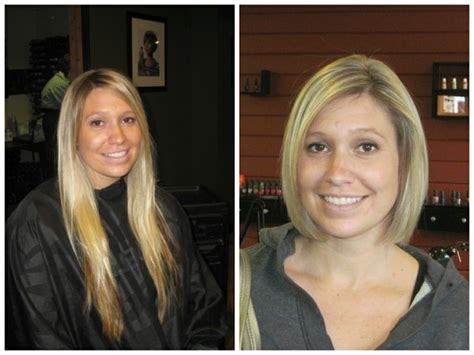hairstyle after the bob 215 best images about hair before and after on pinterest
