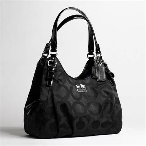 Shoulder Bag Coach lyst coach op sateen maggie shoulder bag in