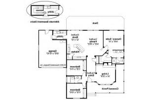Craftsman Style Homes Floor Plans by Craftsman House Plans Cambridge 10 045 Associated Designs