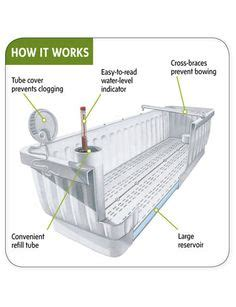 how do self watering planters work 1000 images about plants garden bits planters flowers