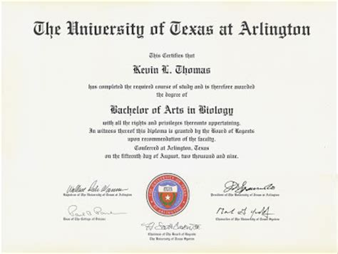 bachelors degree in biology kevin september 2009