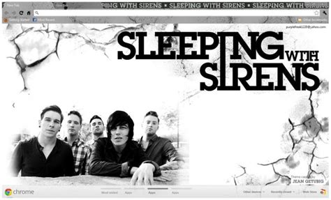 Sleeping With Sirens Chrome Theme   ThemeBeta