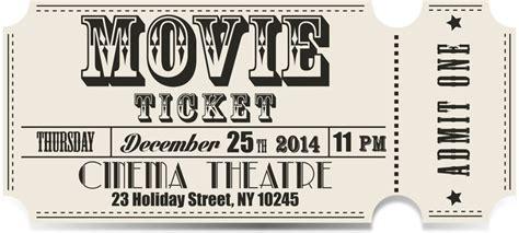 Carta Da Parati Retro Biglietto Del Cinema Vettore Pixers 174 Viviamo Per Il Cambiamento Fashioned Ticket Template