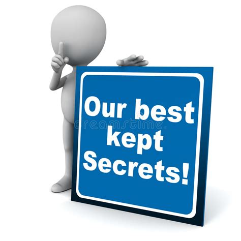 best kept secret the 0230748244 best kept secrets stock illustration image 44158821