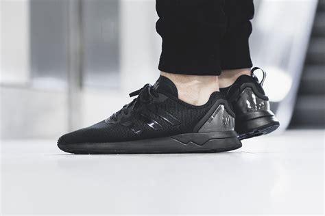 black zx flux adidas zx flux adv black sneaker hypebeast