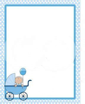 Baby Shower Printing Paper by Baby Shower Border Paper Foter