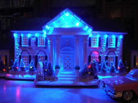 elvis graceland at christmas elvis christmas pinterest