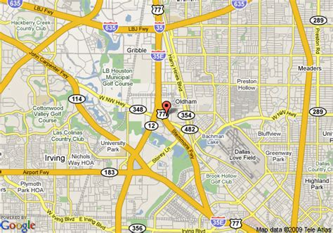 dallas texas on us map map of suburban extended stay dallas