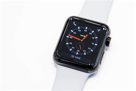 watch series apple watch series 3 hands on the 399 stealth watch
