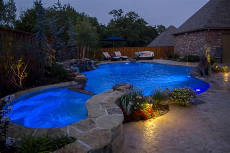 Backyard Pools Guthrie Ok Custom Pools Valley