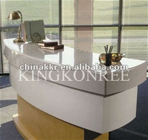 reception desk materials reception desk stand with acrylic material buy reception