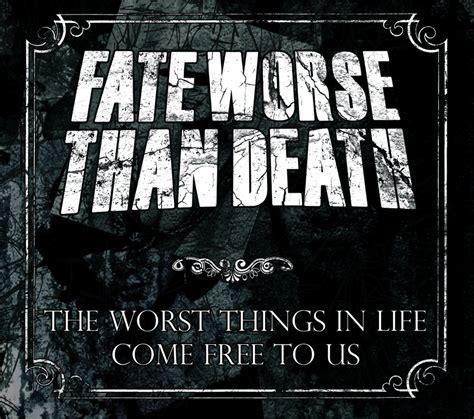 new you come to us for reviews now you can book your hotel right review fate worse than death the worst things in life