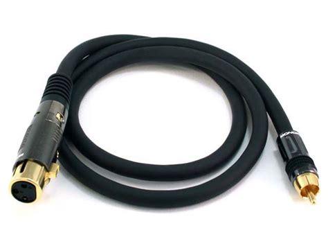 xlr rca cable connection efcaviation