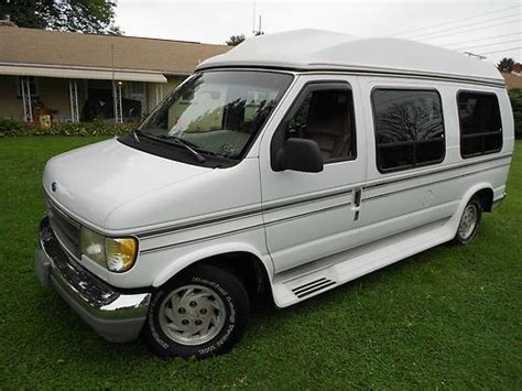 how to sell used cars 1993 ford econoline e150 instrument cluster sell used 1993 ford econoline hi top coachmen edition conversion van 7 passenger e150 in