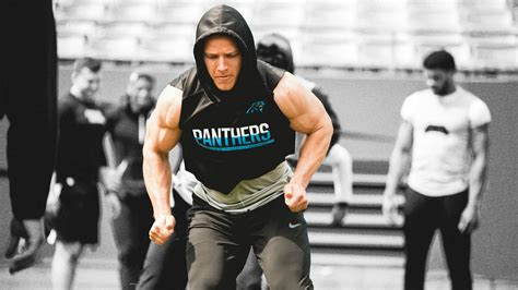 real life diet  christian mccaffrey  arms