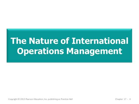 Mba Vs Operations Management by Mba 713 Chapter 17