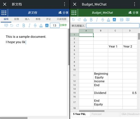 Shared Spreadsheets by Excel Spreadsheet Laobingkaisuo