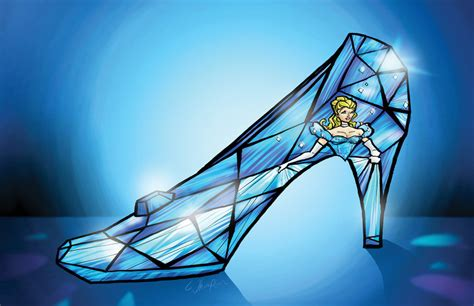 how to draw a glass slipper cinderella the of the glass slipper the