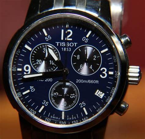 How Much Is 200 Swiss S Watches Tissot Prc200 Swiss Chronograph 200m