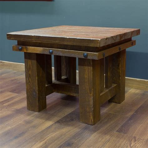 Rustic Living Room End Tables Living Room End Tables Modern House