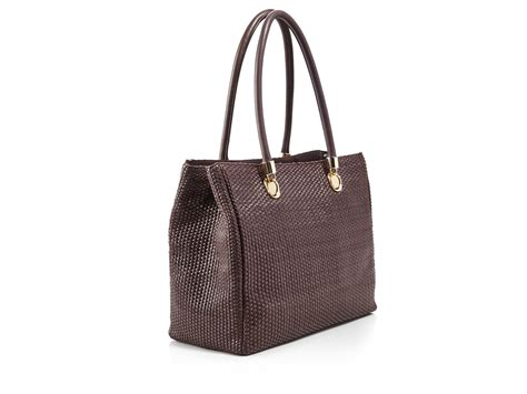 Fendi Woven Tote Supporting American Forests by Cole Haan Benson Woven Braid Tote Compare At 428 In