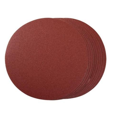Total 380ml random orbit sander sanding pad discs 180mm 400 grit 10pk