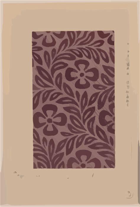 textile design  flower motif clip art  clkercom