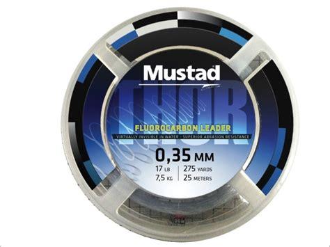 Leader Mustad Fluoro Carbon 55 Lb mustad vlasec thor fluoro carbon leader ml028 25m fluoro karb 243 nov 253 silon h 225 čik