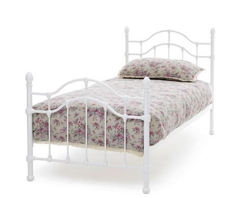 antique white bed antique white metal bed frame new antique white metal