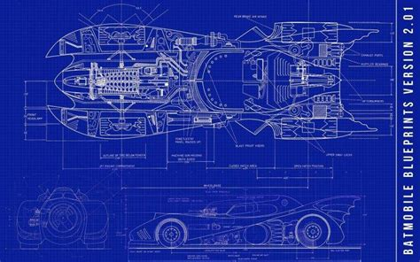 batman batmobile blueprints wallpapers hd desktop  mobile backgrounds