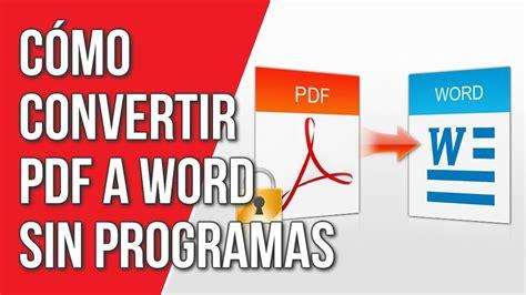 como convertir imagenes a pdf sin programas como convertir pdf a word sin programas bilgisayar temizleme