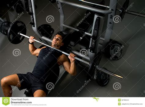 bench press exercise images bench press workout stock images image 32780544