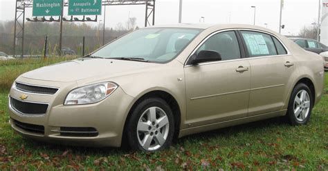 2008 Chevrolet Malibu Mpg by 2008 Chevrolet Malibu Lt 4dr Sedan 4 Spd Auto W Od