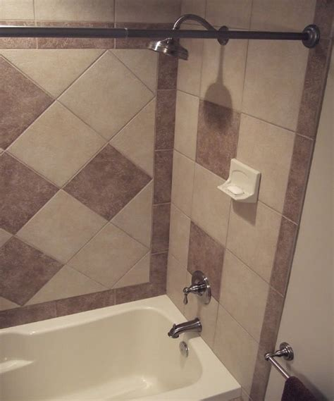 Tile Shower Ideas For Small Bathrooms Small Bathroom Tile Designs Daltile Village Bend Style