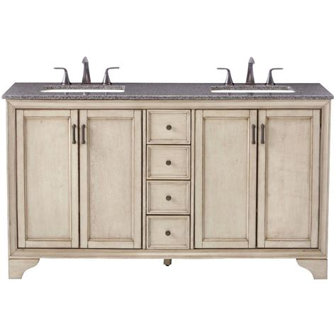 home decorators vanity home decorators collection hazelton 61 in double vanity
