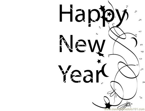 new year join the dots new year balloons dot to dot printable worksheet connect