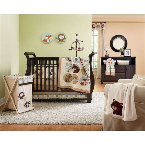 kohls crib bedding great nursery theme from carters adorable forest