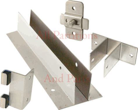 Bathroom Partition Parts by Stainless Steel Partition Hardware For Commercial