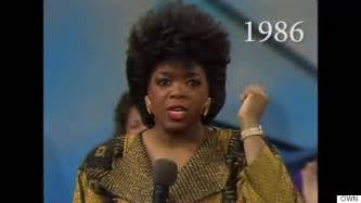 hair of 25 year 25 years of oprah s hairstyles in just 2 minutes huffpost